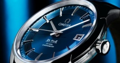 "OMEGA Hour Vision Blue ""Mission Orbis"""