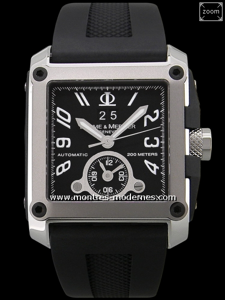 Baume & Mercier Hampton Square Dual Time  - Image 1
