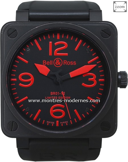 Bell&Ross BR 01-92-S Red Limited Edition 500ex. - Image 1