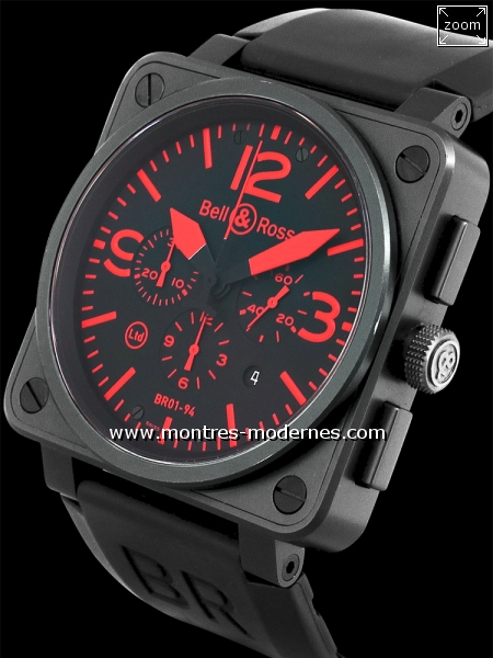 Bell&Ross BR 01-94 Chrono Red 500ex - Image 2