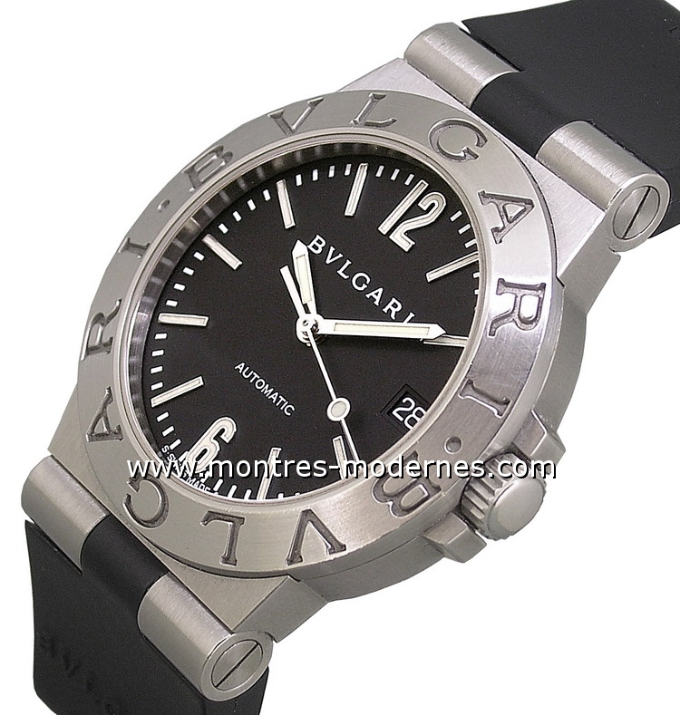Photos de montres Bulgari Diagono MMC. Montres Diagono Bulgari a122cc8353b