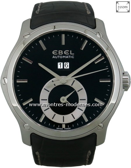 Ebel Classic Hexagon Big Date GMT réf.1215880 - Image 1