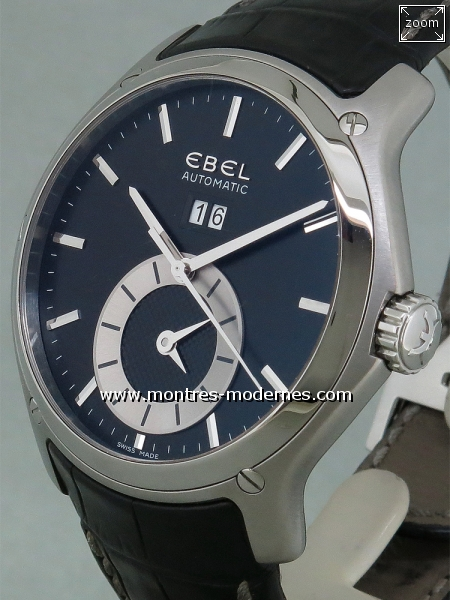 Ebel Classic Hexagon Big Date GMT réf.1215880 - Image 2