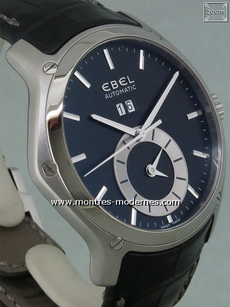 Ebel Classic Hexagon Big Date GMT réf.1215880 - Image 3