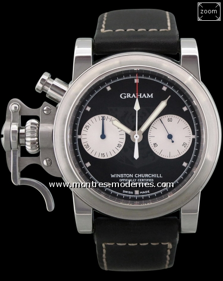 "Graham Chronofighter ""Tribute to Winston Churchill"" 100ex - Image 1"