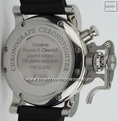 "Graham Chronofighter ""Tribute to Winston Churchill"" 100ex - Image 2"