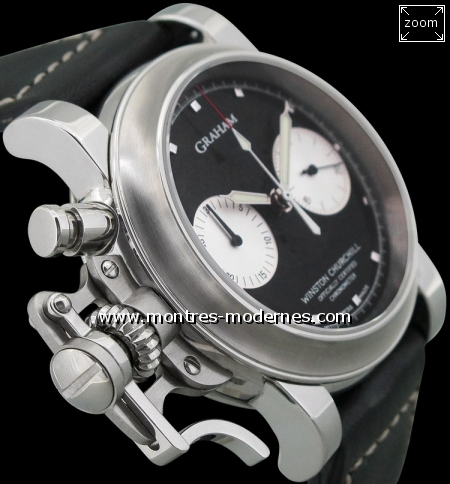 "Graham Chronofighter ""Tribute to Winston Churchill"" 100ex - Image 4"