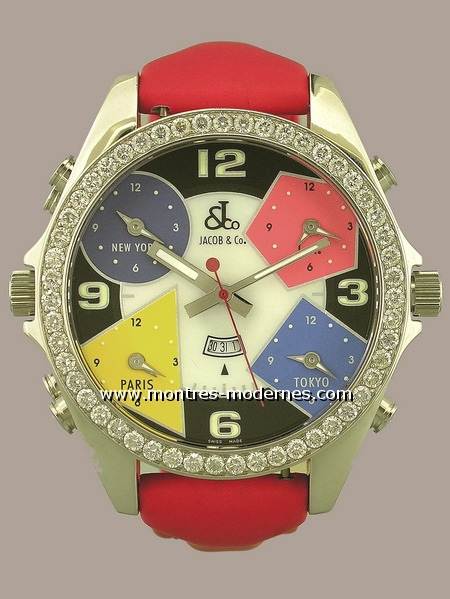 Jacob & Co. Six Time Zone Chrono Double face - Image 1