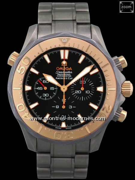 Omega Seamaster America's Cup - Image 1
