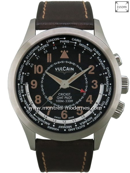 Vulcain Aviator Cricket GMT Pilot - Image 1