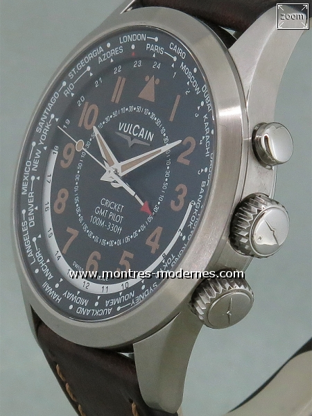 Vulcain Aviator Cricket GMT Pilot - Image 2