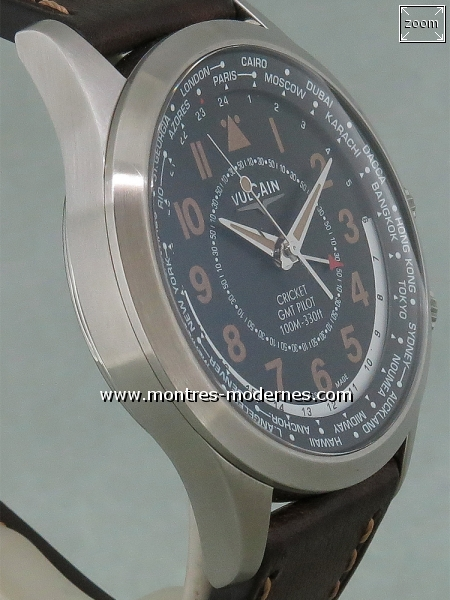 Vulcain Aviator Cricket GMT Pilot - Image 3