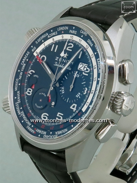 Zenith Heritage Icons Doublematic réf.03.2400.4046/21.C721 - Image 3